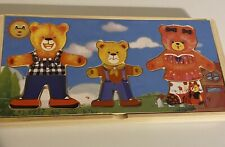 wooden toys kids educational And Activity Toys , Teddy Bear puzzle,xylophone .