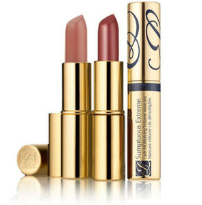 Estee Lauder Pure Color Long Lasting Lipstick and Sumptuous Extreme Mascara Gold