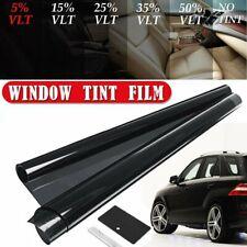 "Uncut Window Tint Roll 5% VLT 20 "" 10 ft Feet Home Commercial Office Auto Film"