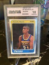 1988-99 Fleer Reggie Miller Rookie #57 Gem Mint 10 Indiana Pacers PSA?