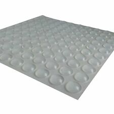 100 Pcs Self-Adhesive Rubber Feet Semicircle Bumpers Door Buffer Furniture Pad