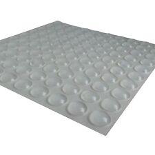 Self-adhesive Rubber Feet Semicircle Bumpers Door Buffer Furniture Pad 100 Pcs