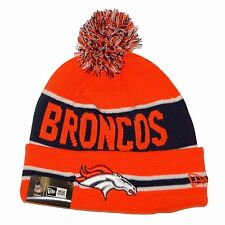 Denver Broncos New Era The Coach Knit Hat with Pom