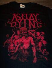AS I LAY DYING Skulls BAND T-Shirt SMALL NEW