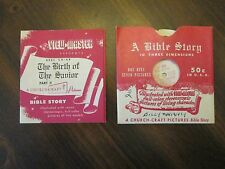 ViewMaster The Birth Of The Savior Reel CH 6B A Bible Story 1947 Sawyers