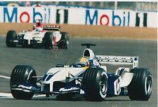 Ralf Schumacher Hand Signed BMW Williams F1 12x8 Photo.