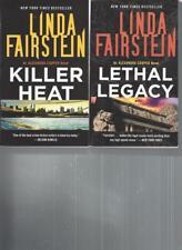 LINDA FAIRSTEIN - Killer Heat - A LOT OF 2 BOOKS