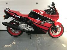 Honda CBR600FN 1992 K reg 21937miles MOT 04/19 see video