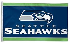 Seattle Seahawks 3x5 House Flag [New] Nfl Banner Sign Fan Wall Man Cave