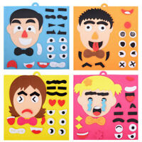 Fun Children Early Education Facial Expression Puzzle Educational Toy For Kids