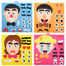 Fun Children Early Education Facial Expression Puzzle Educational Toy For Kids A