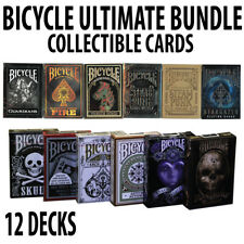 Bicycle Playing Cards Ultimate Collectible Bundle 12 Decks Total