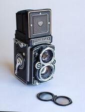 Rolleiflex 2.8F TLR Film Camera with RARE f2.8 Xenotar 80mm lens, Many Extras