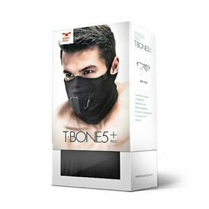 NAROO T-BONE5+ Sports Mask with Built-in 3D Air-room