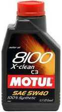 Motul 8100 5W40 X-Clean C3 Synthetic Oil  1L (1.05 qt.)