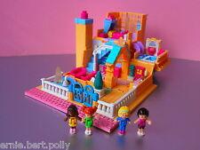Polly Pocket Mini★*Luxus Light up Hotel  mit Licht*★4 Pollys*KOMPLETT*
