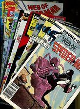 Web of Spider-Man Annual 1,2,3,4,5,6,7,8,9,10 * 10 Book Lot * Marvel Comics