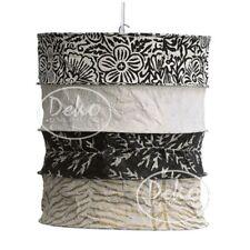 LOKTA Papierlampe / Hängeleuchte - CASABLANCA schwarz-weiß ... NEU/OVP