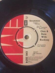 CHAS & DAVE w/ ROCKNEY - STRUMMIN' / I'M IN TROUBLE - EMI 2874