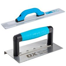 "OX Concreting Kit - Includes 16"" Magnesium Float and Medium Edger 100 x 180mm"