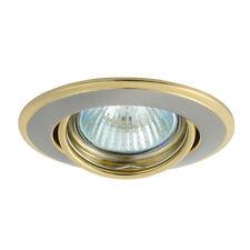 Einbaustrahler LED Einbauspot Einbauleuchte perlsilber/gold  MR16 schwenkbar