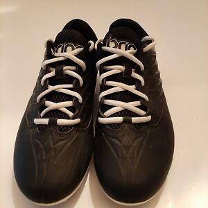 Women's Brine Empress Lacrosse Cleats Turf Shoe Black / White Size 9