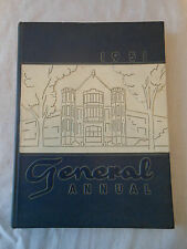 Year Book ANNUAL High School WOOSTER OHIO Generals 1951 1 of 2