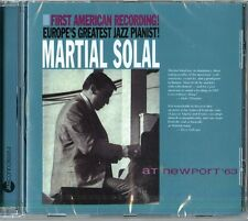 SOLAL MARTIAL - AT NEWPORT '63  - CD NUOVO SIGILLATO