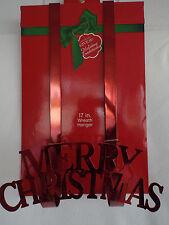 "MERRY CHRISTMAS 17"" Wreath Hanger"