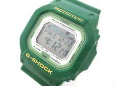Auth CASIO G-SHOCK GLX-5600A LightGray LightGreen Green Men's Wrist Watch