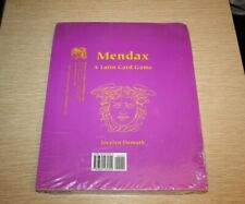 Mendax : A Latin Card Game (2005, Book, Other) NEW IN SEALED SHRINK WRAP