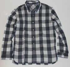 NWT! American Eagle Mens AE Classic Plaid Checks Oxford Shirt Athletic Fit, XL