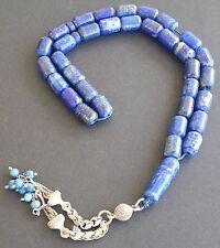 Prayer Beads Rosary, Tesbih, Masbaha - Rare & Marvelous Natural LAPIS LAZULI 55g