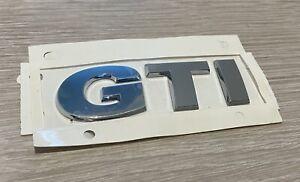 Genuine Original VW Volkswagen 'GTI' Self-Adhesive Letters Badge Emblem Stickers