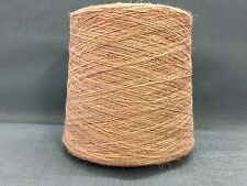 QUALITY YARN CONE 2 PLY 56% / 44% LINEN / COTTON CREEVE COLOUR 1000g 20 BALLS
