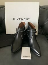 Givenchy Elegant Studs Pointy Toe Booties Size 36