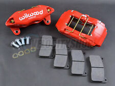 Wilwood DPHA Front Brake Calipers Kit (Red) for 92-00 Civic EX / 90-01 Integra