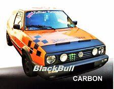 Haubenbra VW Golf 2 Car Bra Steinschlagschutz Automasker Tuning CARBON
