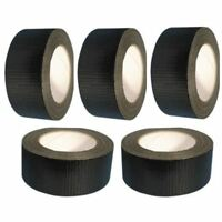 4 + 1 Free Black Gaffa Gaffer Duct Tape 50mm X 25m Adhesive Waterproof