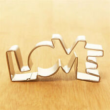New Design Cookie Cutter LOVE Forms Biscuit Cake Mould Tool High Quality