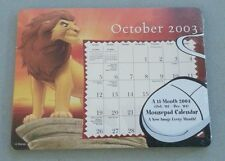 Disney's The Lion King 2004 Mousepad Calendar NEW in Package