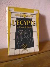 Marcelle CAPY : l'EGYPTE au coeur du monde  1950