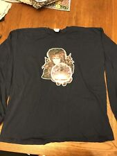 The Labyrinth David Bowie Long Sleeve Graphic T-shirt Size XL