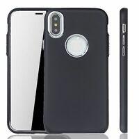 Apple IPHONE X / XS Coque Étui pour Téléphone Portable Housse en Noir