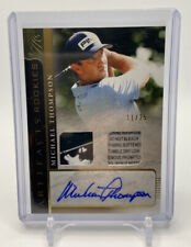 New listing 2021 Upper Deck Artifacts Golf Rookies MICHAEL THOMPSON Rookie Patch Auto /25 RC