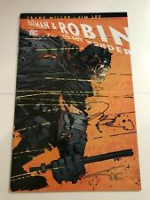 All Star Batman And Robin 7 Miller Variant Signed X2 Jim Lee