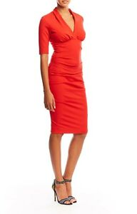 New With Tags Nicole Miller Hadley Ponte Dress