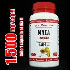 ENVIO URGENTE: MACA Peruana Dra Bannister 1.500mg/60c  + Deseo sexual