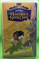 THE HUNCHBACK OF NOTRE DAME VHS 1997 Disney Masterpiece Sealed Clamshell NIB