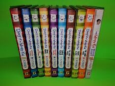 Lot of 10 Diary Of A Wimpy Kid Books 1-9 + Movie Diary Book Hardcover